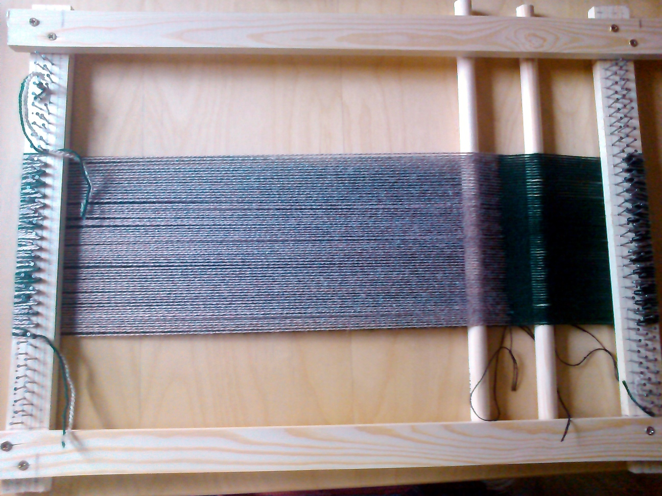 A simple frame loom